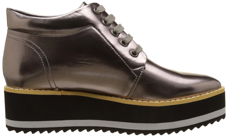 Cassis Cote DAZUR Peluche, Zapatos de Cordones Derby para Mujer, Argent (Plomb), 41 EU Cassis côte d'azur