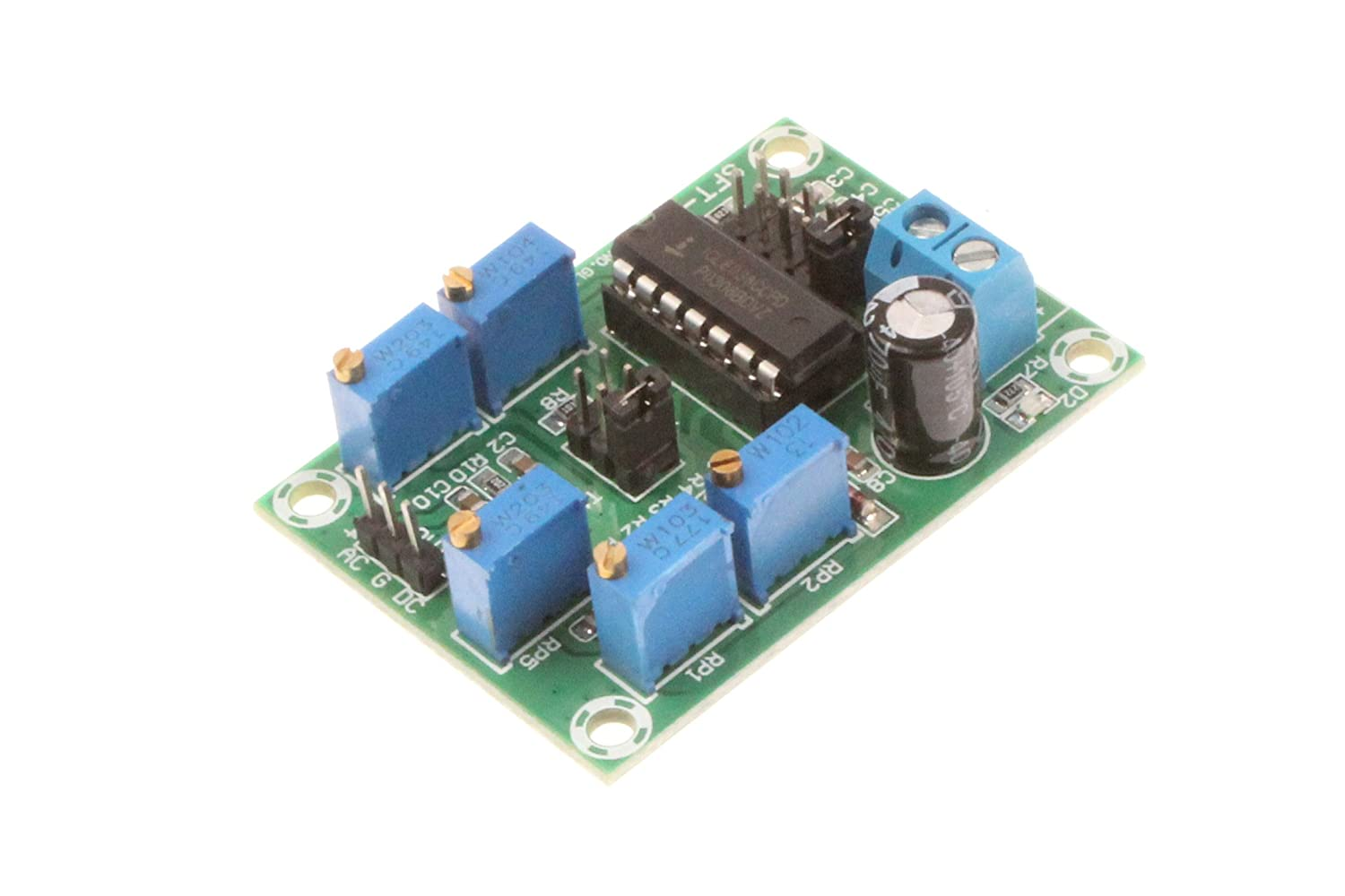 Noyito Icl8038 Signal Generator Module Medium Low Frequency Source Trianglewave Circuit Sine Wave Triangle Square Triple
