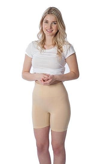 c9b016f69 Rufina  501 - Pack of 3 - Women s Seamless Shape wear Girdle Thigh Slimmer  Short Firm Control Brief