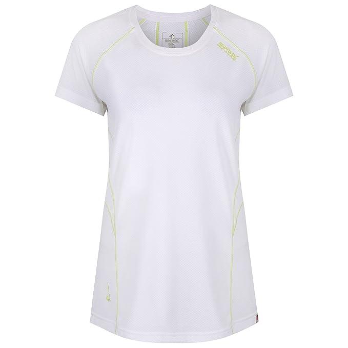 Regatta Womens Ladies Virda II Sports Top (18 US) (White) at Amazon ... 29aba06b31