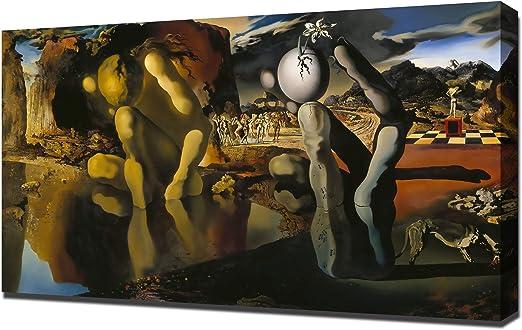SALVADOR DALI POSTER Metamorphosis of Narcissus NEW