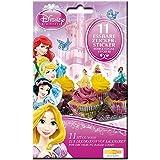 Disney Princess Zuckersticker 11 Stück, essbar, Tortendeko