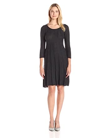 Kasper Women's A-Line Sweater Dress at Amazon Women's Clothing store: