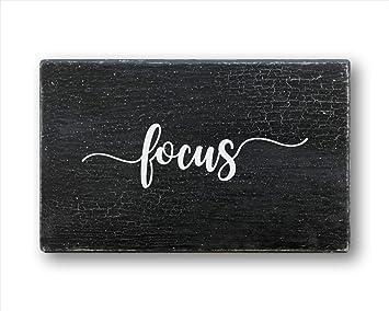 Amazon.com: Mindfulness - Cartel de motivación de madera ...