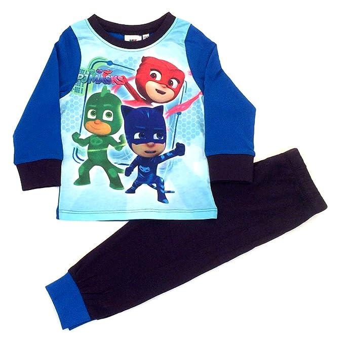 PJ Masks - Pijama Dos Piezas - para niño Azul