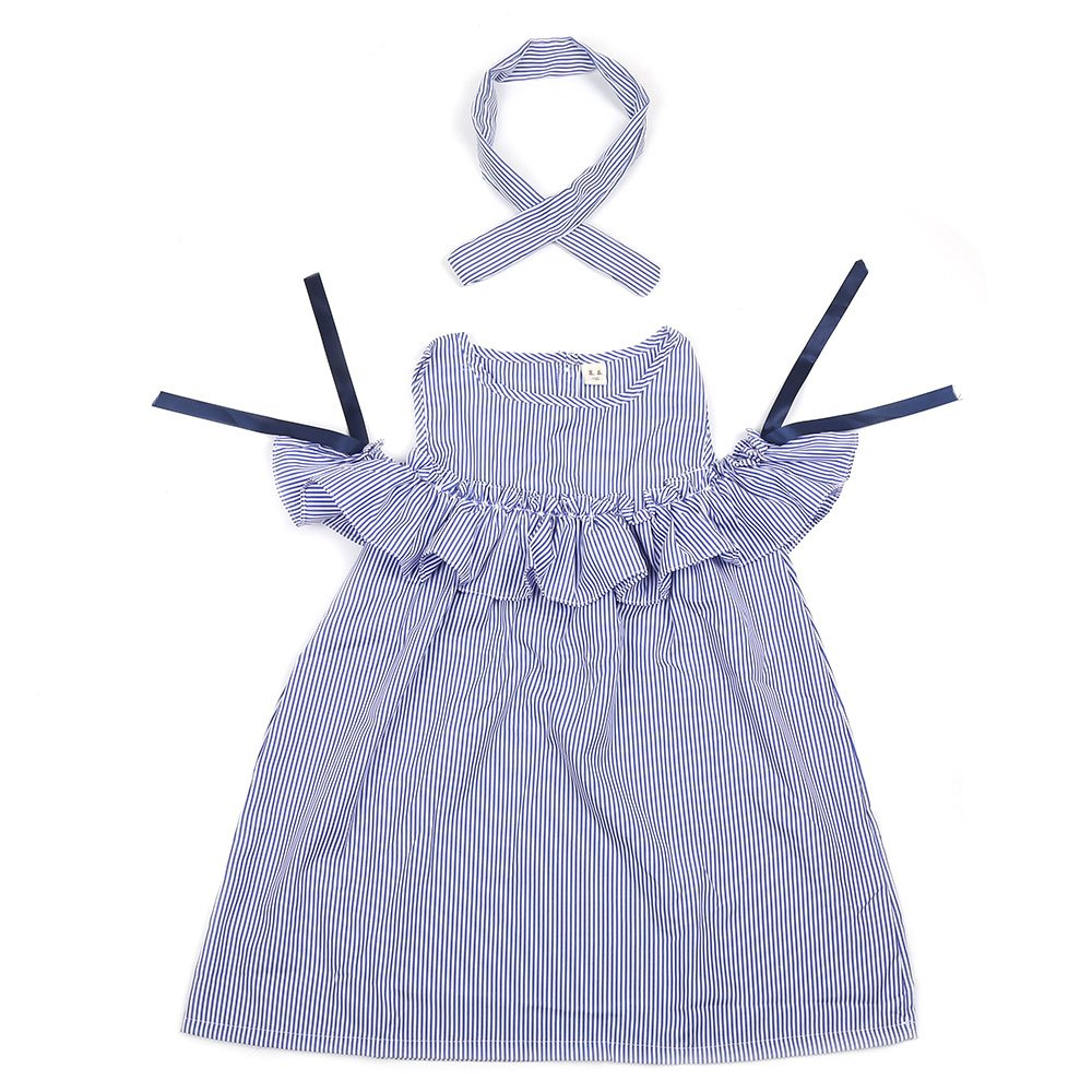 Robasiom Little Girls Dress Cotton Casual Short Sleeve Skirt for Summer Parenting Family Dress by Eden Babe (Image #1)