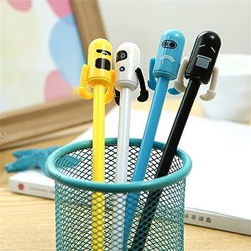 Charmant Cute Kawaii Weird Robot Shape Gel Ink Pens School Office Supplies For Girls  Stationery Novelty Pens