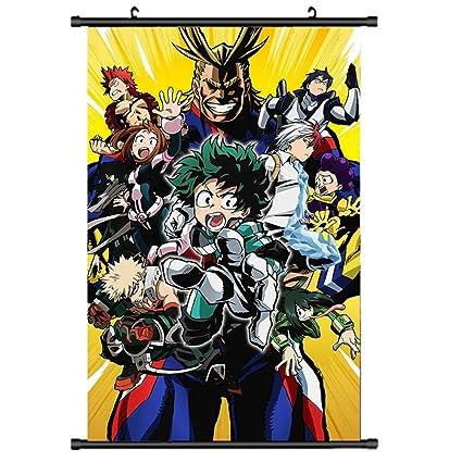 Mikucos My Boku No Hero Academia Wall Scroll painting Poster