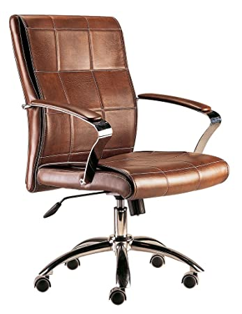 Adec Colonial Office Swivel Chair 66 X 57 X 107cm Brown
