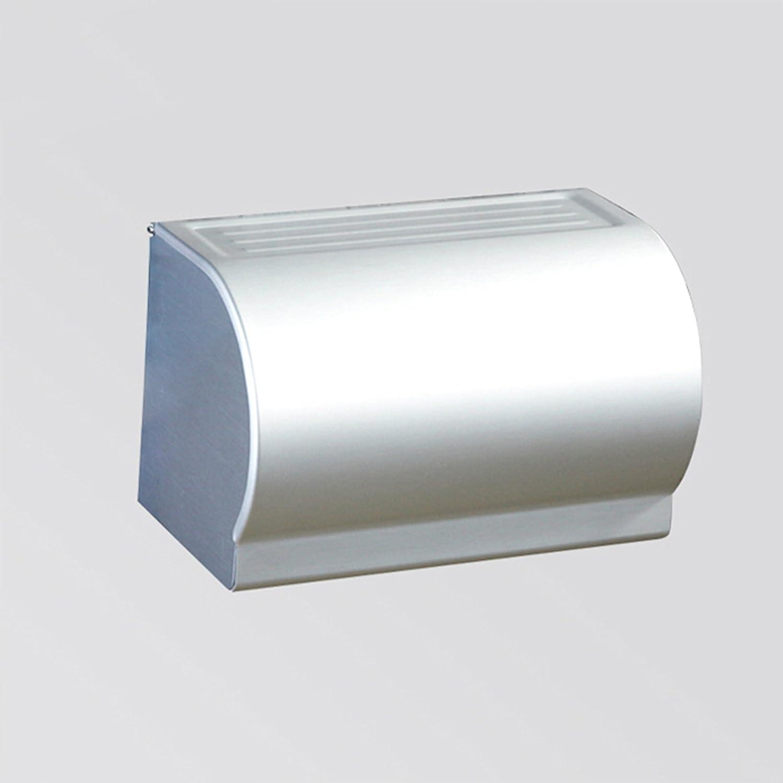 FEIRONG Espace Aluminium /Étendu Papier Toilette Plateau Porte-Papier Toilette Porte-Serviettes En Papier Imperm/éable /À Leau Rouleau Support 16651