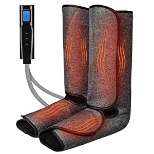 Foot and Leg Massager with Heat for Circulation