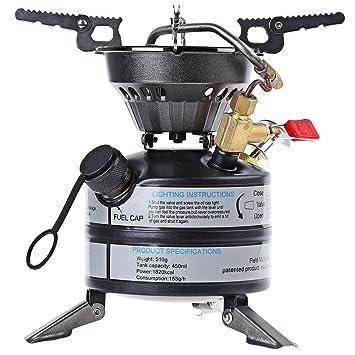 Cocina eléctrica estufa de camping al aire libre estufa estufa 2-3 Operaciones de Campo
