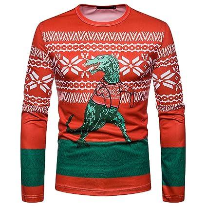 Amazoncom Easytoy Mens Ugly Christmas X Mas Cardigan T Shirt With