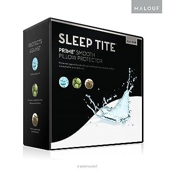 MALOUF Dormir Tite PR1ME Suave 100% Impermeable hipoalergénico Protector de colchón con 15 años de garantía: Amazon.es: Hogar
