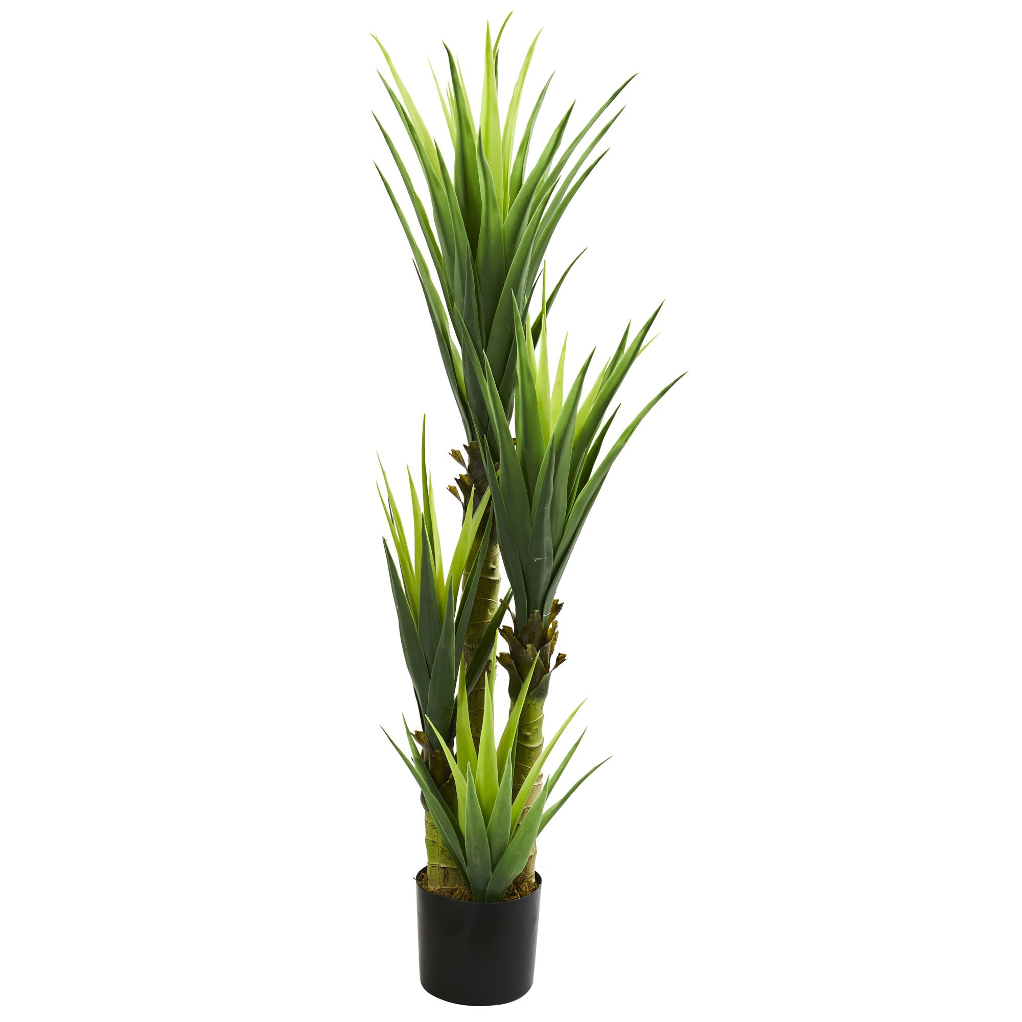 Nearly Natural 6343 4.5' Dracaena Plant, Green by Nearly Natural