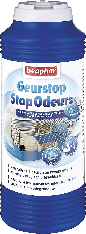 Beaphar Neutralizador de olores, gránulos, para Basura, para roedores, 600g