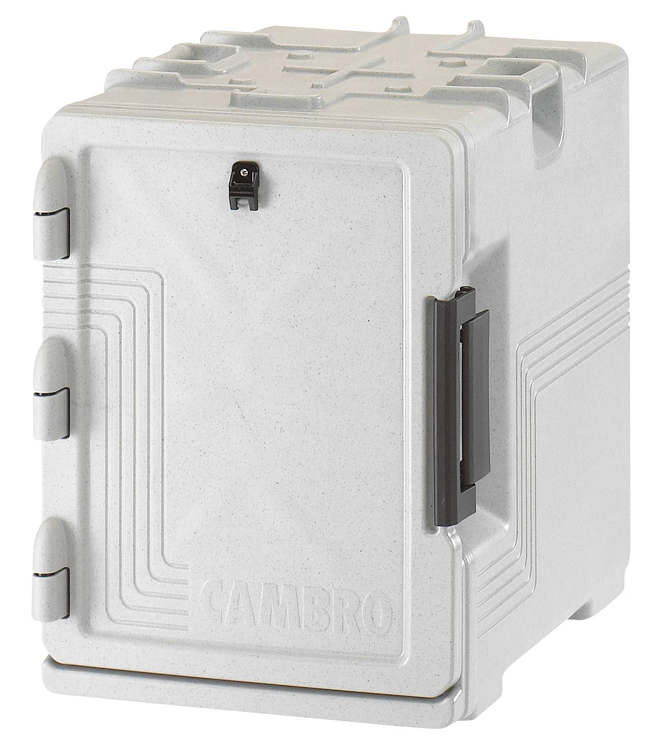 Cambro UPCS400480 Ultra Camcarrier S-Series Speckled Gray Pan Carrier Case of 1