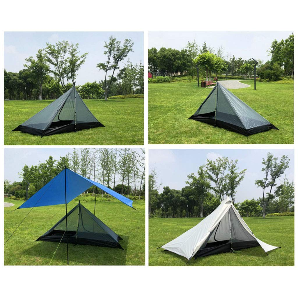 B Baosity One Person Trekking Pole Tent