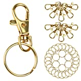 Amazon Price History for:Outus 25 Pieces Lobster Claw Clasps Findings with 30 Pieces Keychain Rings