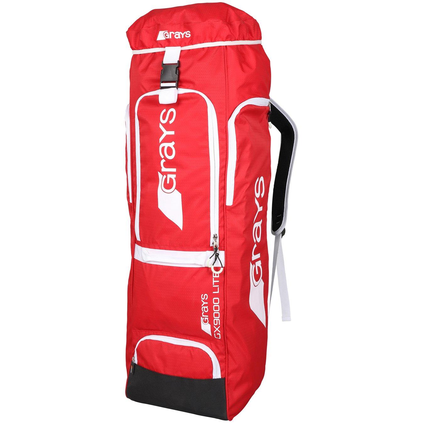 Grays GX9000 Lite Hockey Stick/Kit bag - Red 246603002