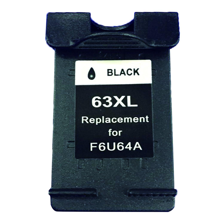 Bavvo ®リサイクルインクカートリッジHP 63 X Lで使用HP Deskjet 2130 (ブラック/3色) B01ING74MY 1ブラック 1ブラック