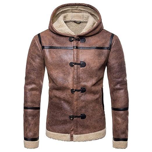 e87d8d04a20 AKIMPE Mens Coats Mens Winter Jacket Men Coat Coats for Men Coffee L2