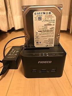 HDDの接続がとても便利