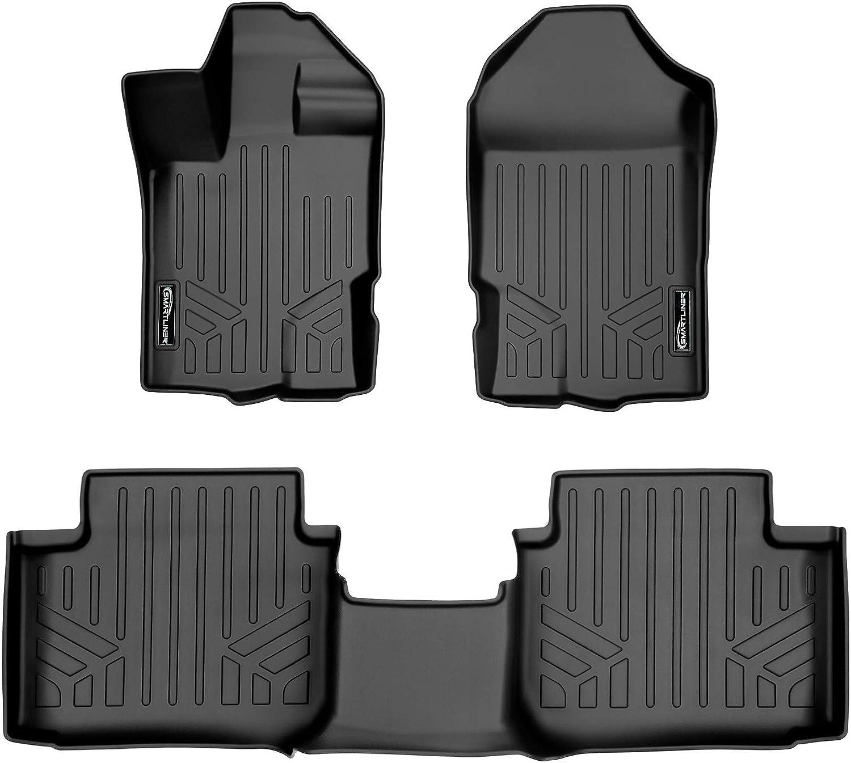 Nylon Carpet Black Coverking Custom Fit Front Floor Mats for Select Porsche Models
