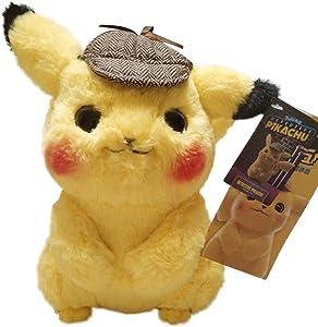 "Vabao Detective Pikachu Plush Stuffed Animal Toy - 11"""