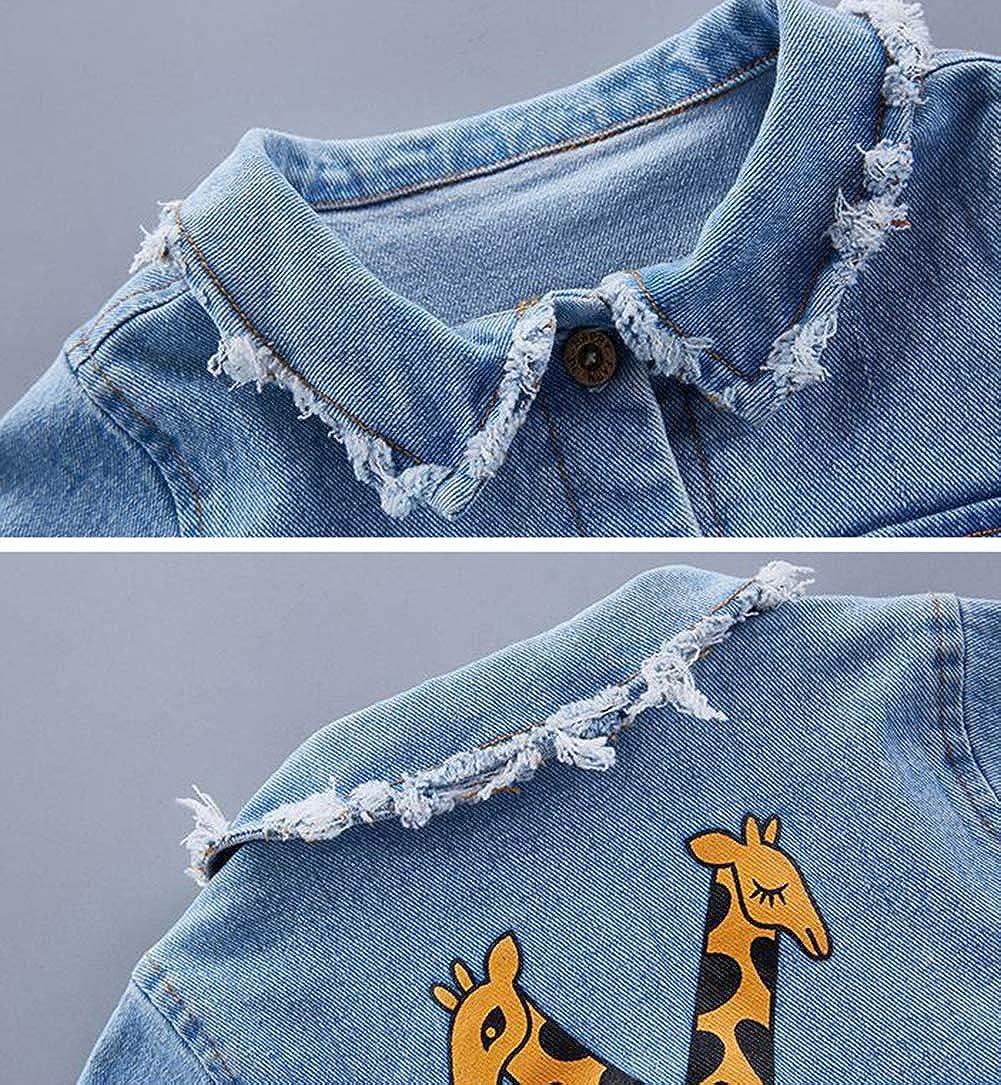 Bevalsa Baby Jungen M/ädchen Jeans Strampler Weiche Baumwolle Cartoon Giraffe Denim Overalls Jumpsuits Latzhose f/ür Fr/ühling Sommer Strampler