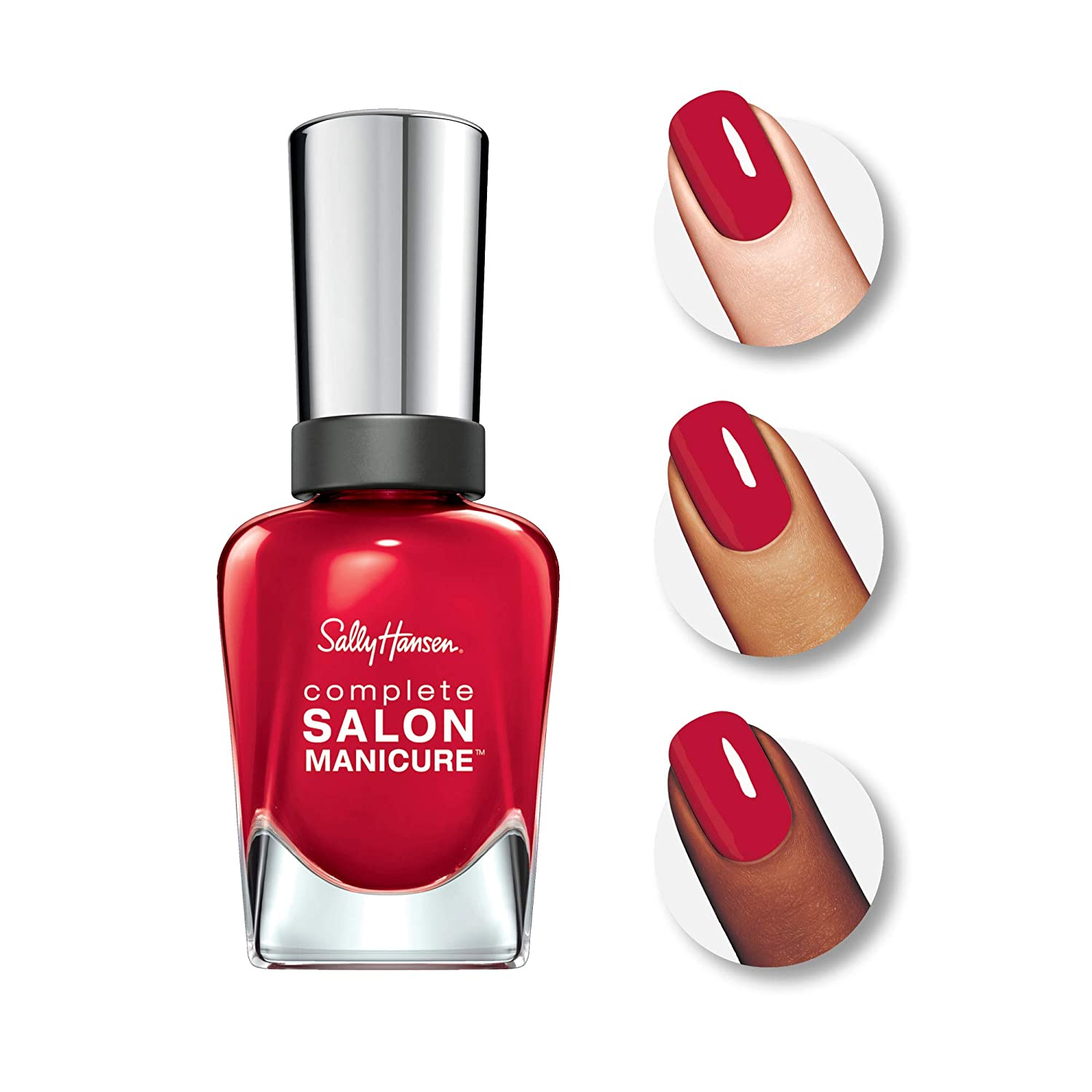 Sally Hansen Complete Salon Manicure Wine Not Burgundy-Red Nail Polish