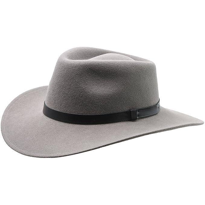 Sterkowski Sharps - Sombrero de ala Grande de Fieltro de Lana  Amazon.es   Ropa y accesorios 44c0a4da165