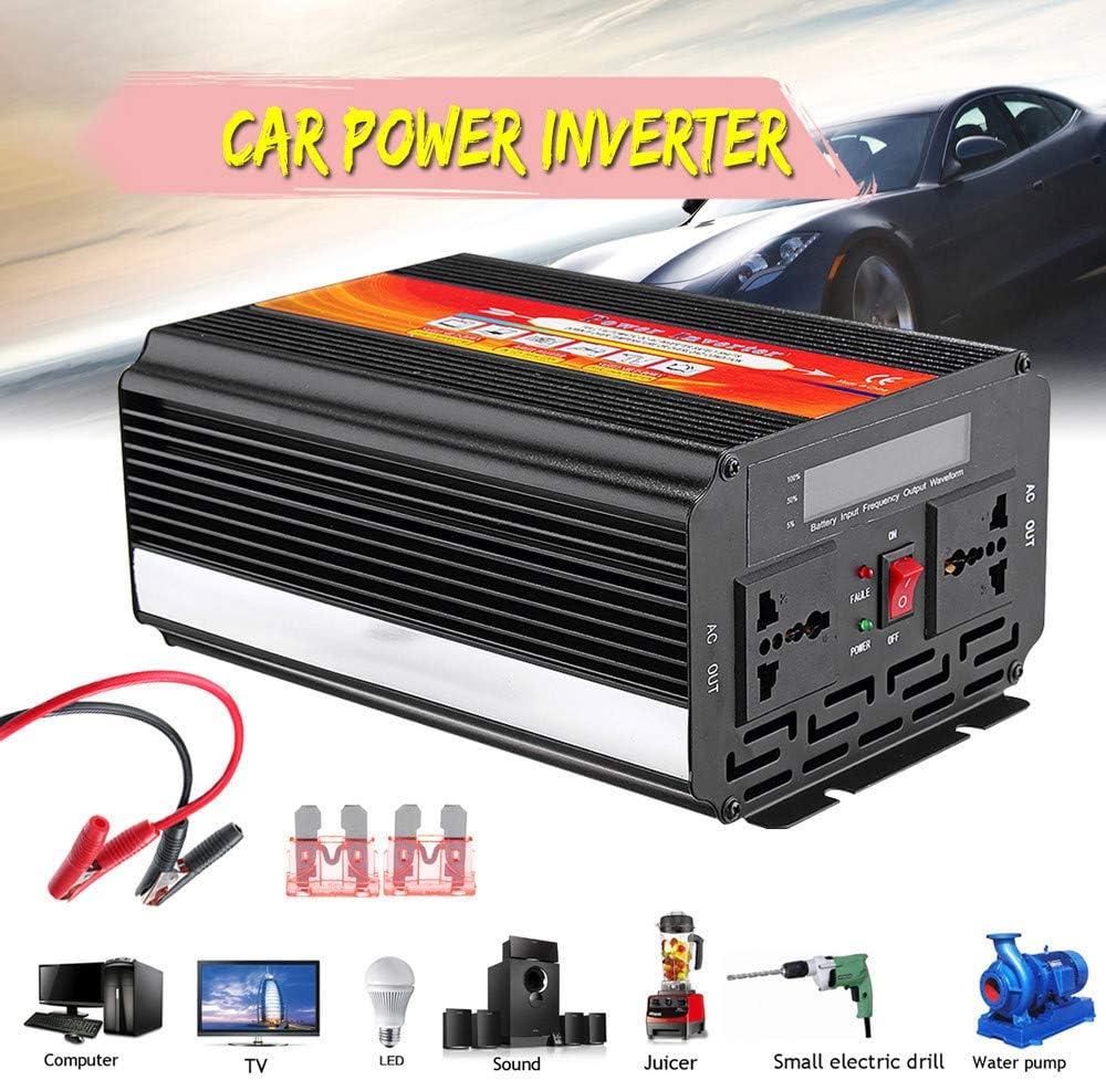 Chranto Lucky 7 8000W Car Power Inverter 12V to 110V Sine Wave ...