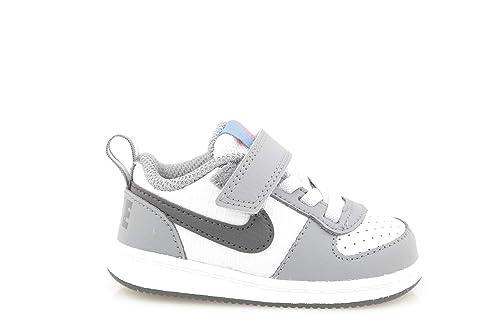 promo code 7e274 32af4 Nike Court Borough Low (TDV), Pantofole Unisex-Bimbi, Multicolore (Cool