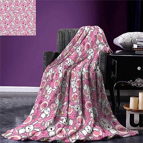 Amazon AnimeThrow BlanketFunny Kawaii Illustration With Beauteous Kawaii Throw Blanket