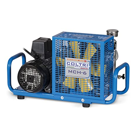 Aliento Aire Compresor 100 L/min motor de 300 bar s 400 V