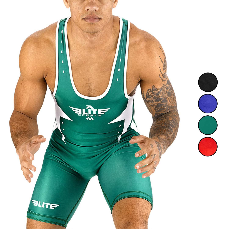 Elite Sports Men/'s Wrestling Singlet Uniform Star Series Advanced Singlets for Men Wrestling