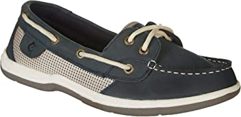 c3a6da3d7ccb Reel Legends Womens Sanibel Boat Shoes