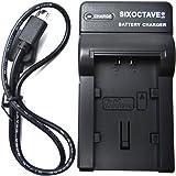 [str] ビクター Victor BN-VG107 / BN-VG108 / BN-VG109 / BN-VG114 / BN-VG119 / BN-VG129 / BN-VG121 / BN-VG138急速互換USB充電器カメラバッテリーチャージャー AA-VG1 (SIXOCTAVE商標登録)