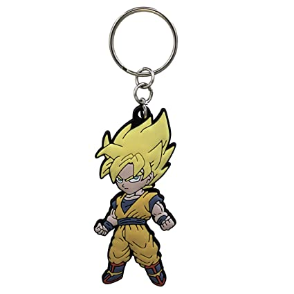 ABYstyle abykey097 Dragon Ball – Llavero PVC – Goku Super Saiyan