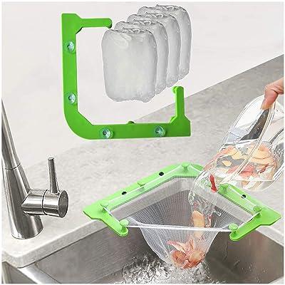 100 Pcs Disposable Kitchen Bathroom Sink Drain Waste Filter Net Strainer Mesh