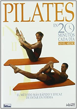 Pilates en 20 minutos cada día - Nivel Medio [DVD]: Amazon ...
