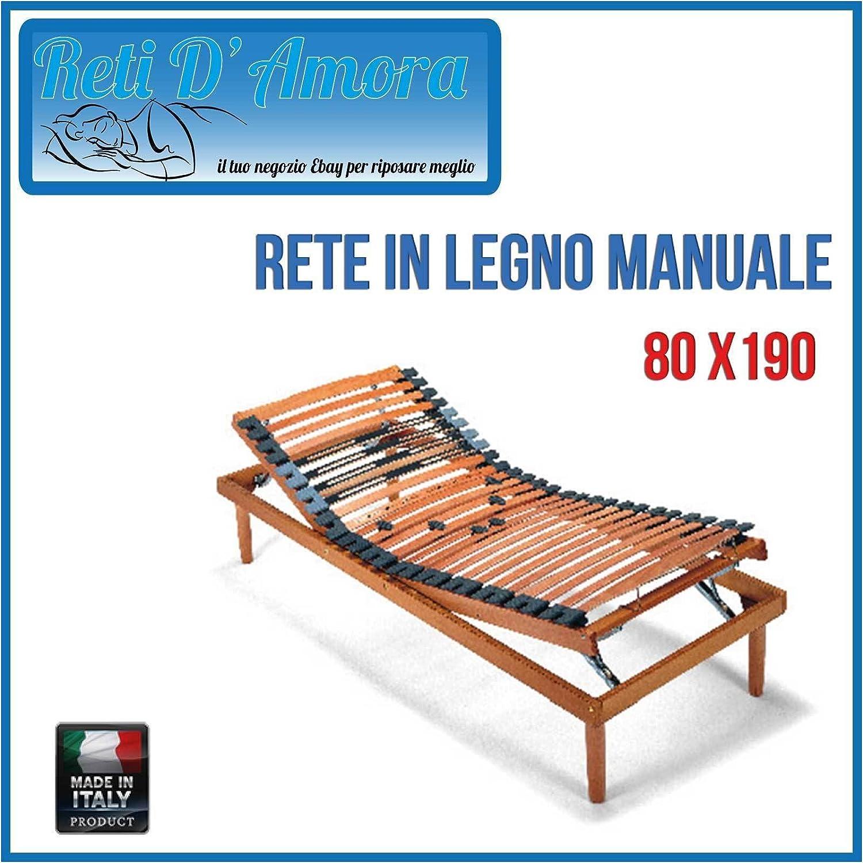 RETI DAMORA somier ortopédico de láminas Manual 80 X 190 ...