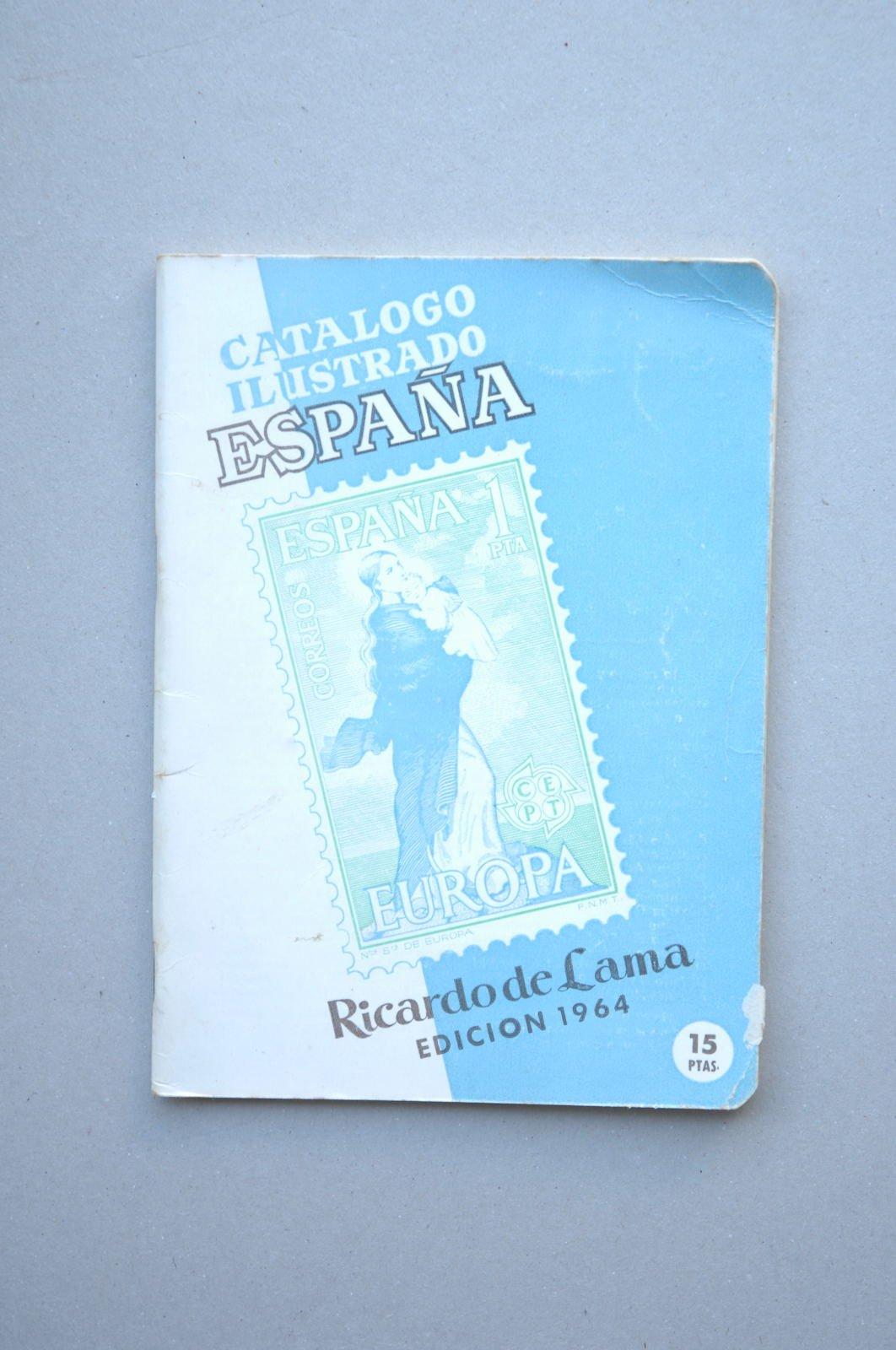 CATÁLOGO ilustrado. España : catálogo de sellos . 1964: Amazon.es ...