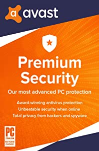 Avast Premium Security 2020 | Antivirus Protection Software | 1 PC, 1 Year [Download]