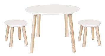 Bois Table Pour Et Chaise Enfants Amazon En WQxoerBdC