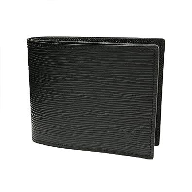 7a63f6018ce3 ルイヴィトン 財布 LOUIS VUITTON 二つ折り財布 ポルトフォイユ マルコ NM エピ ノワール M62289 [並行