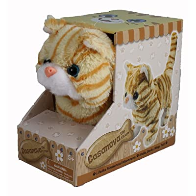 Westminster Casanova The Mechanical Kitten - Orange Striped: Toys & Games