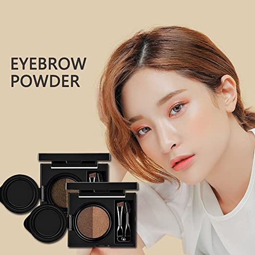 1pc Eyebrow Dye Cream Eyebrows Powder Natural Air Cushion Double Color Eyebrows Seal Waterproof Mascara Eye Makeup Cosmetics Back To Search Resultsbeauty & Health