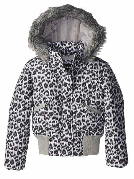 Amazon.com: Rothschild las niñas Snow Leopard chamarra de ...